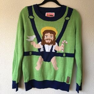 Tipsy Elves Sweaters Baby Jesus Ugly Christmas Sweater Poshmark
